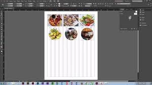 how to place images inside frame shapes in adobe indesign