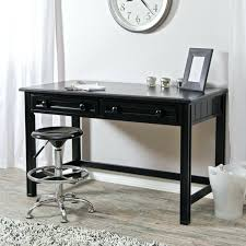 in home office desk living writing black with hutch65 office