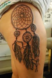 Dream Catcher Tattoo On Leg Nice Dream Catcher Tattoo On Left Leg Photos Pictures and 85