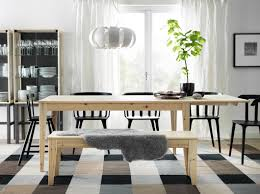 modern ikea dining chairs. Modern Ikea Dining Sets With Bench Seating One Stool Crafted From Solid Pine Wood Drop Leaf Chairs