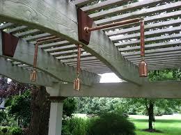 outdoor pergola lighting. Custom-Cleveland-pergola-lighting-by-Outdoor-Lighting-Perspectives- Outdoor Pergola Lighting E