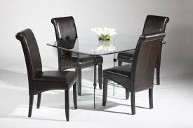 Glass Kitchen Table Sets Dining Table Glass Dining Table Chairs Glass Kitchen Table Sets