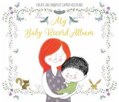Baby Photo Album Books My Baby Record Album Book By Bluestreak Books Official Publisher