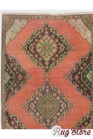 antique washed runner rug 3 8 x 11 5 112