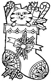 Small Picture Awesome Christmas Stocking Coloring Pages to Motivate to color