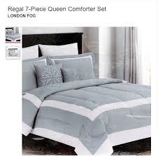 regal 7 piece queen comforter set