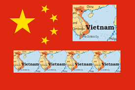 Image result for cartoon china vietnam