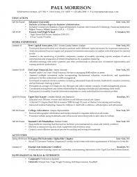 Sample Resumes For College Graduates College Graduate Resume Example Resume Samples 21