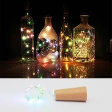 Wine Bottle Cork Lights Copper Led Light Strips Rope Lamp Kit Diy