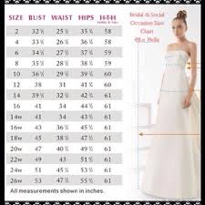 Wedding Dress Sizing Guide Fashion Dresses