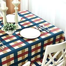 small round table cover table cloth small fresh and simple lattice rectangular coffee round table cover