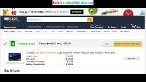 tutorial for how to purchase an xbox live gift card code on amazon