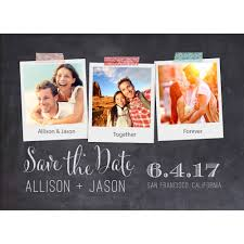 walmart stationery shop save the date cards personalized stationery polaroid save the date