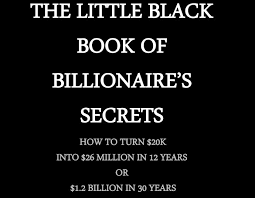 Romero brothers, book 2)the billionaire's cinderella. Download The Little Black Book Of Billionaire Secrets From Forbes