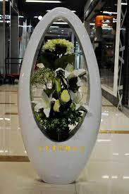 Modern Floor Vases With Unique Vas And Indoor Area Also Flowers