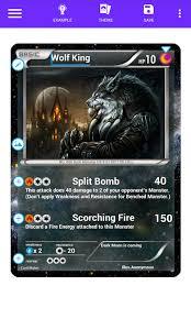 Card Maker For Pokemonster