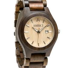 custom men s watches custommade com engravable groomsman black sandalwood and maple wood watch by ambici by riley stephens