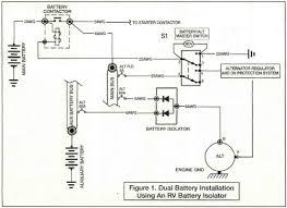 battery isolators rv dual battery isolator at Rv Battery Isolator Diagram