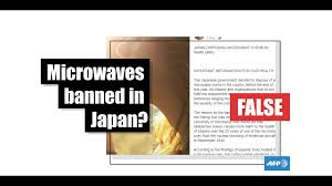 Health The No Banned Check Ovens Microwave Afp Not Japanese Fact To Has Protect Government Citizens'