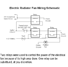 xenonzcar com z31 electric cooling fan installation here is a diagram of a similar setup