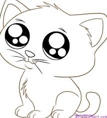 Small Picture Coloring Pages Cats Coloring Book of Coloring Page