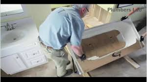 how to install a bathtub step by step installation process plumbers lab you