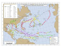 Gis Chart 2017 2017 Atlantic Hurricane Season