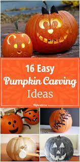 Cool Pumpkin Carving Designs Easy 16 Easy Pumpkin Carving Ideas Tip Junkie