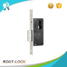 security door lock with handle commercial glass door lock