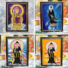 Ớ Bộ áo mão cho tượng bà Diêu Trì / Thiên Hậu / mẹ Cửu Thiên (3 bán  623,288đ