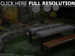 diy outdoor garden furniture ideas. Cool Patio Furniture Ideas 22 Easy And Fun Diy Outdoor Concrete Picnic Tables In The Small Garden