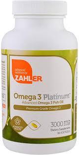 Zahler Omega 3 Platinum, Advanced Omega 3 Fish ... - Amazon.com