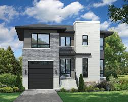 Plan 80805PM: Two Story Contemporary House Plan