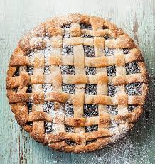 A very hairy Christmas: Mincemeat lattice tart | Daily Mail Online