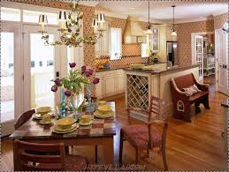 Kitchens Decorated For Christmas Christmas Kitchen Decorating Ideas With Ornament Black Island And