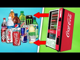 Vending Machine Hack 2017 Delectable Soda Geyser Car Rocket Cool Science Experiment UrYouTube
