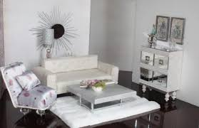 living room with mirrored furniture. Mirrored Furniture Set Living Room Rooms With