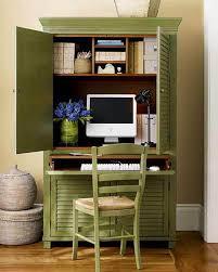 Home Office Small Space Green Decor Decoseecom