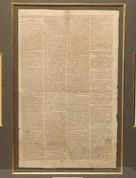 alexander hamilton federalist essays in the new york packet ldquoevery government ought to contain in itself the means of its own preservationrdquo extremely scarce first printing of hamilton s essay no