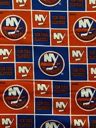 New York Islanders Fabric, NY Islanders ...