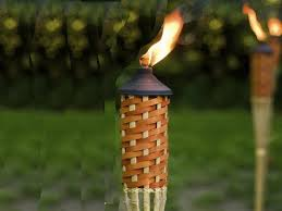 install free standing tiki torch