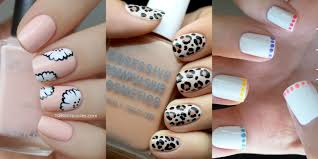 Nail Art Ideas for Short Nails - Manicures Designs for Shorter Nails