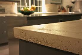 image of concrete countertop plastic edge forms
