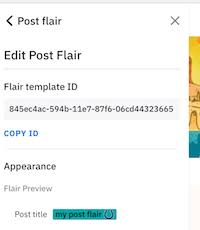 Flair Template Using Automod To Apply Post And User Flair On The Redesign