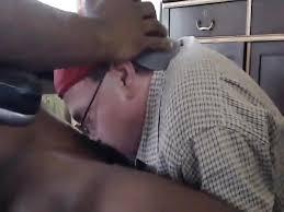 Old gay man sucks black cock