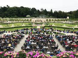longwood gardens main fountain garden re opens to the public on saay may 27 after three years