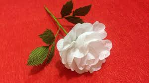 Paper Flower Tissue Paper How To Make Rose Tissue Paper Flowers Flower Making Of Tissue Paper Paper Flower Tutorial