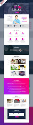 single page website template free download