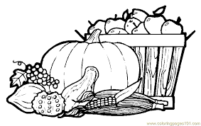 Small Picture Autumn fruits Coloring Page Free Autumn Coloring Pages