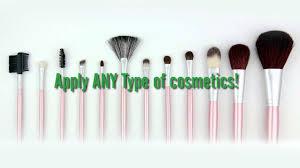 beaute basics 12 piece makeup brush set deal you